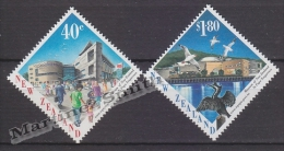 New Zealand - Nouvelle Zelande 1998 Yvert 1590-91 Inauguration Of The Wellington Museum - MNH - Unused Stamps