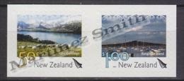 New Zealand - Nouvelle Zelande 2007 Yvert 2322-23 Definitive - Landscapes - Adhesive - MNH - Nuova Zelanda