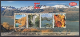 New Zealand - Nouvelle Zelande 1996 Yvert BF 106 Capex'96 Philatelic International Exhibition - Miniature Sheet - MNH - Nuovi
