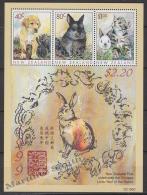 New Zealand - Nouvelle Zelande 1999 Yvert BF 127 Fauna - Domestic Animals - Miniature Sheet - MNH - New Zealand