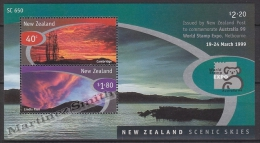New Zealand - Nouvelle Zelande 1999 Yvert BF 128 Australia'99 International Philatelic Exhibition- Miniature Sheet - MNH - Nueva Zelanda