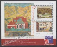 New Zealand - Nouvelle Zelande 1999 Yvert BF 133 Philexfrance'99 Int. Philatelic Exhibition - Miniature Sheet - MNH - Nueva Zelanda