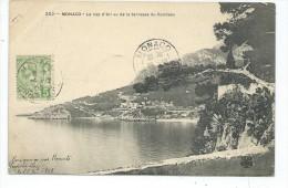 MCS3- MONACO Le Cap D'Ail Vu De La Terrasse Du Rondeau - Monaco