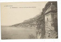 MCS3- MONACO Vue Sur La Pointe Saint Antoine - Monaco