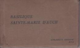 CARNET  DE  LA  BASILIQUE  SAINTE-MARIE D'AUCH - Cartoline