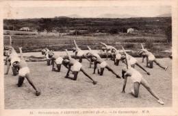 CPA, Rare, Préventorium D´Arbonne-Bidart, La Gymnastique, Animée, N° 24 - Bidart