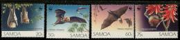 (cl. 2 - P.44) Samoa **  N° 763 à 766 (ref. Michel Au Dos) Chauve-souris - - American Samoa