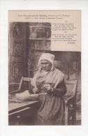 Carte Postale CHANSON DE BOTREL Hamonic VOEU A SAINT YVES 1933 Costume Breton SABOTIERE BRETAGNE SABOT SABOTIER BRETONNE - Bretagne