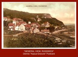 "P4851  ""GENERAL VIEW, RUNSWICK""  (Colour Photogravure Postcard) - England"