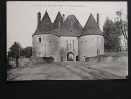 CPA - 19 - POMPADOUR - ENTREE DU CHATEAU - Arnac Pompadour