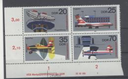 DDR Michel No. 2516 - 2519 W Zd 451 ** postfrisch DV Druckvermerk