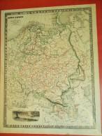 MP05 Carte Monin : Russie D´Europe, 1840 Great Russia (avec Finlande, Pologne, Ukraine, Estonie...) - Mapas Geográficas