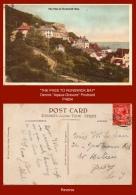 "P4854  ""The Pass To Brunswick Bay""  (c. 1930's. Colour Photogravure Postcard) - England"
