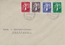 SUISSE 1939 LETTRE DE ZURICH - Covers & Documents