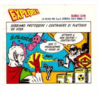 EXPLORER - 1980 About, LA GIULIA ITALIA BUBBLE GUM INNER WRAPPER ORIGINAL 4 - Other