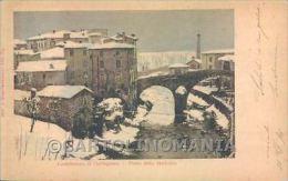 Lucca Castelnuovo Garfagnana Nevicata Cartolina ZB3957 - Lucca