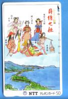 Japan Japon Telefonkarte Télécarte Phonecard  -  NTT Nr. 330 - 135 - Culture