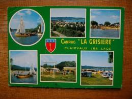 """Clairvaux Les Lacs , Camping """" La Grisière """" Multi-vues - Clairvaux Les Lacs"""