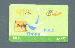 OMAN - Remote Phonecard/Camel - Oman