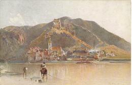 Art Rudolf Von Alt Blick Auf Durnstein In Der Wachau - Peintures & Tableaux