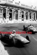 Reproduction D'une Photographie De Surtess Hill Au Grand Prix De Monaco De 1963 - Reproductions