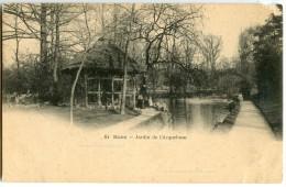 DIJON - Jardin De L'Arquebuse - CPA Vierge Non écrite - 2 Scans - Dijon