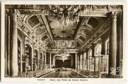 VICHY - Salle Des Fêtes Du Grand Casino - Sépia Vierge Non écrite - 2 Scans - Vichy