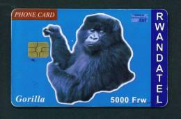 RWANDA - Chip Phonecard As Scan - Rwanda