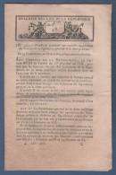 BULLETIN DES LOIS AN IX - DETTE PUBLIQUE - RIVIERE DE BIEVRE - ST AMOUR - ETAT CIVIL - CHANTILLY - LISTE DES EMIGRES - Decreti & Leggi