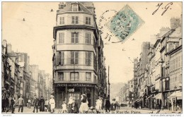 LE HAVRE PERSPECTIVE DE LA RUE DE PARIS 1905  (LOT AB12) - Le Havre