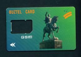 UZBEKISTAN - SIM Frame Phonecard As Scan - Uzbekistan