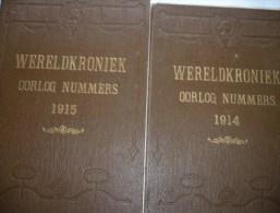 Wereldkroniek 1914-15 (2 Delen Geïllustreerd Tijdschrift) - War 1914-18