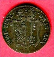 GENEVE 25 CENTIMES 1847 ( KM 135) TB+  110 - Suisse