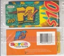 USA - MTV(Music Television)/Buzz Someone You Love, Spree By Sprint Prepaid Card $10, Mint