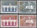 Great Britain. 1984 Europa. 25th Anniv Of CEPT. Second Elections To European Parliament. Used Complete Set. SG 1249-1252 - 1952-.... (Elizabeth II)