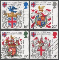 Great Britain. 1984 500th Anniv Of College Of Arms. Used Complete Set. SG 1236-1239 - Used Stamps