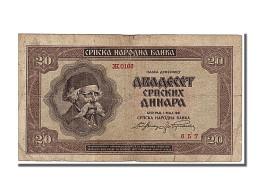 Serbie, 20 Dinara Type Karadzic - Serbie