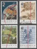 Great Britain. 1984 Centenary Of Greenwich Meridian. Used Complete Set. SG 1258-1262 - 1952-.... (Elizabeth II)