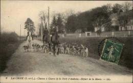37 - LA CROIX - Chasse à Courre - France