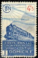 France Colis Postaux 1944. ~ YT 213 - 4 F. 30 Livraison A Domicile (Train) - Oblitérés