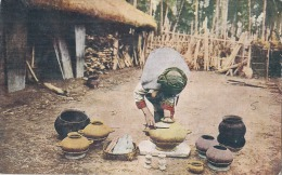 Chine Formose   Savage Women Making Eartnern Pots Unused - Formose
