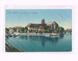 Breslau 1911- Wroclaw - Pologne-poland - Sandkiroha Und Landungsplatz - Pologne