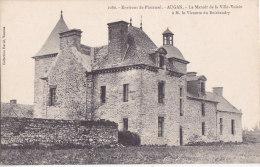 Au - Cpa AUGAN - Environs De Ploërmel (Morbihan) - Le Manoir De La Ville Voisin à M. Le Vicomte Du Boisbaudry - Autres Communes
