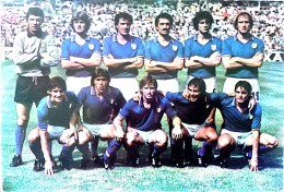 SQUADRA DI CALCIO ITALIA 1982 CAMPIONI DEL MONDO NON VIAGGIATA - Soccer
