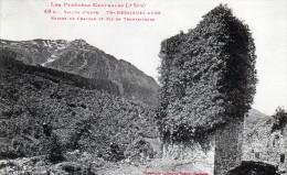Cpa Vallée D'aure,TRAMESAIGUES, Ruines Du Château Et Pic De Tramesaïgues (51.20) - France