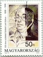 Hongrie - Spécimen (Gomme D'Origine)(N° YT 3613 De 1998) - Centenaire Naissance Léo Szilard (Physicien-Humaniste) (JS) - Essais, épreuves & Réimpressions