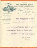 Marseille - Courrier  René Oliver - Papiers Photographiques Industriels - Stamperia & Cartoleria