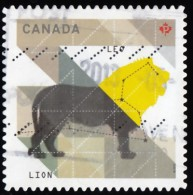 CANADA - Scott #2453 Sign Of The Zodiac, Lion (*) / Used Stamp - Astrology