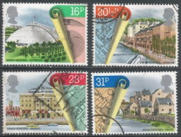 Great Britain. 1984 Urban Renewal. Used Complete Set. SG 1245-1248 - Used Stamps
