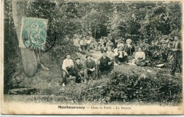 CPA 95  MONTMORENCY DANS LA FORET LA SOURCE 1905 - Montmorency